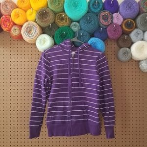 Old Navy | Striped Zip-Up Hoodie